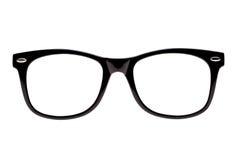Montature per occhiali nere della nullità della foto Immagini Stock