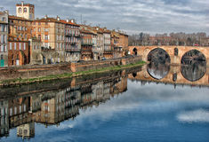 Montauban auf Tarn Lizenzfreie Stockfotos