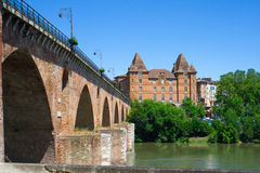 Montauban cityscape Royalty Free Stock Images
