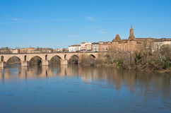 Montauban cityscape Stock Photos