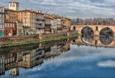Montauban en el Tarn Fotos de archivo libres de regalías