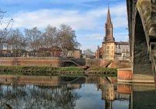 Montauban, Francja obraz royalty free