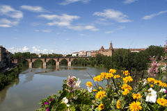 Montauban. View on the city of Montauban in France Stock Image