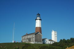 Montauk  light house Royalty Free Stock Image