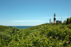 Montauk Lighthouse, Long Island New York, USA. Royalty Free Stock Images