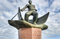 Montauk perdió en el monumento del mar Fotografía de archivo libre de regalías