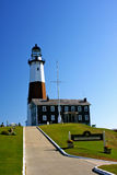 Montauk Point Light House Stock Photo