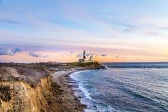 Montauk Point Light, Lighthouse, Long Island, New York, Suffolk Stock Photo