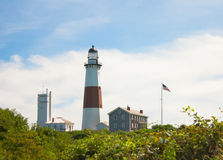 Montauk Point Lighthouse Royalty Free Stock Images