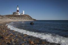 Montauk Point lighthouse Royalty Free Stock Image