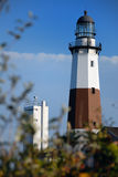 Montauk Point lighthouse Stock Photos