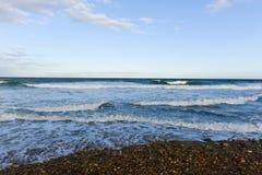 Montauk Point Lighthouse Beach royalty free stock photography