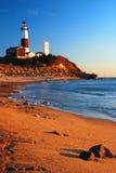 Montauk Point Lighthouse Stock Image