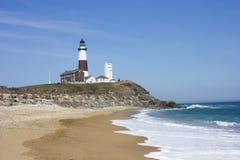 Montauk Point Lighthouse Royalty Free Stock Photography