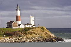 Montauk Punkt-Leuchtturm Lizenzfreies Stockfoto