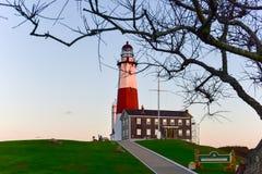 Montauk-Punkt-Leuchtturm - New York lizenzfreie stockfotografie