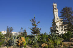 Montaza Komplex - das Al-Haramlik Palace+garden Stockfotografie