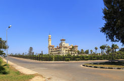 Montaza Palace in Alexandria, Egypt. Stock Photography