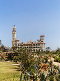 Montaza Palace in Alexandria, Egypt. Royalty Free Stock Photos