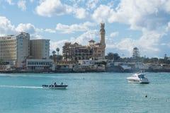 Montaza Palace in ALexandria Egypt stock photo