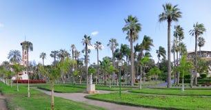 Montaza park , in Alexandria, Egypt. Panorama. Stock Photo