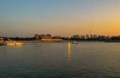 Montazah hav på Alexandria Egypten arkivfoton