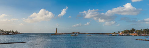 Montazah latarnia morska Zdjęcie Royalty Free