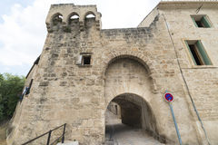 Montbazin (France). Montbazin (Herault, Languedoc-Roussillon, France), historic village near Montpellier royalty free stock photography