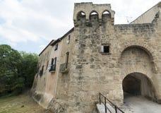 Montbazin (France). Montbazin (Herault, Languedoc-Roussillon, France), historic village near Montpellier stock photos