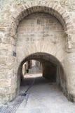 Montbazin (France). Montbazin (Herault, Languedoc-Roussillon, France), historic village near Montpellier stock photography