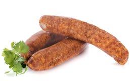 Montbeliard sausagesz 免版税库存照片
