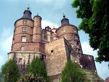 Montbeliard Schloss lizenzfreie stockbilder