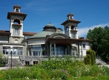 Montbenon Lausanne Royaltyfria Foton