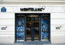 Montblanc stockbild