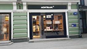MontBlanc butik w Moskwa zdjęcie wideo