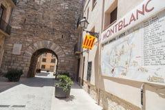 Montblanc, Catalogne, Espagne Photos libres de droits