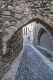 Montblanc, Catalogne, Espagne Images libres de droits