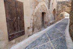 Montblanc, Catalogne, Espagne Photos stock