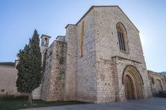 Montblanc, Catalogne, Espagne Photographie stock