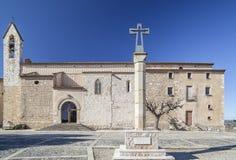 Montblanc, Catalogne, Espagne Photo stock