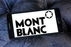 Montblanc logo Royalty Free Stock Photo