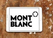 Montblanc logo Royalty Free Stock Images