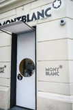 Montblanc luxury brand Royalty Free Stock Photos