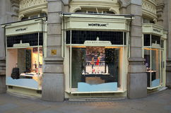 Montblanc Store - London Royalty Free Stock Image