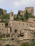 Montbrun. Les Bains village in Provence Royalty Free Stock Photography