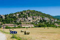 Montbrun les Bains royalty-vrije stock afbeelding