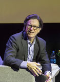 2015年Montclair电影节的史蒂芬・科拜尔 库存照片