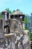 Monte堡垒,澳门,中国 免版税库存照片