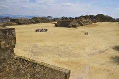Monte奥尔本在瓦哈卡,墨西哥 库存图片