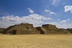 Monte奥尔本站点在瓦哈卡,墨西哥 库存图片